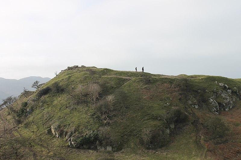 File:Castell Degannwy Deganwy Castle Sir Ddinbych Wales 38.JPG