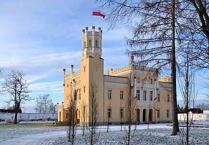 Castle in Narok (Norok), Silesia