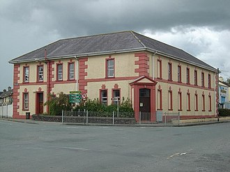 Castleisland - Castleisland courthouse and Carnegie library