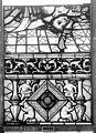 Cathédrale - Vitrail, Chapelle Saint-Joseph, Vie de saint Romain, lancette médiane, cinquième panneau, en haut - Rouen - Médiathèque de l'architecture et du patrimoine - APMH00031317.jpg