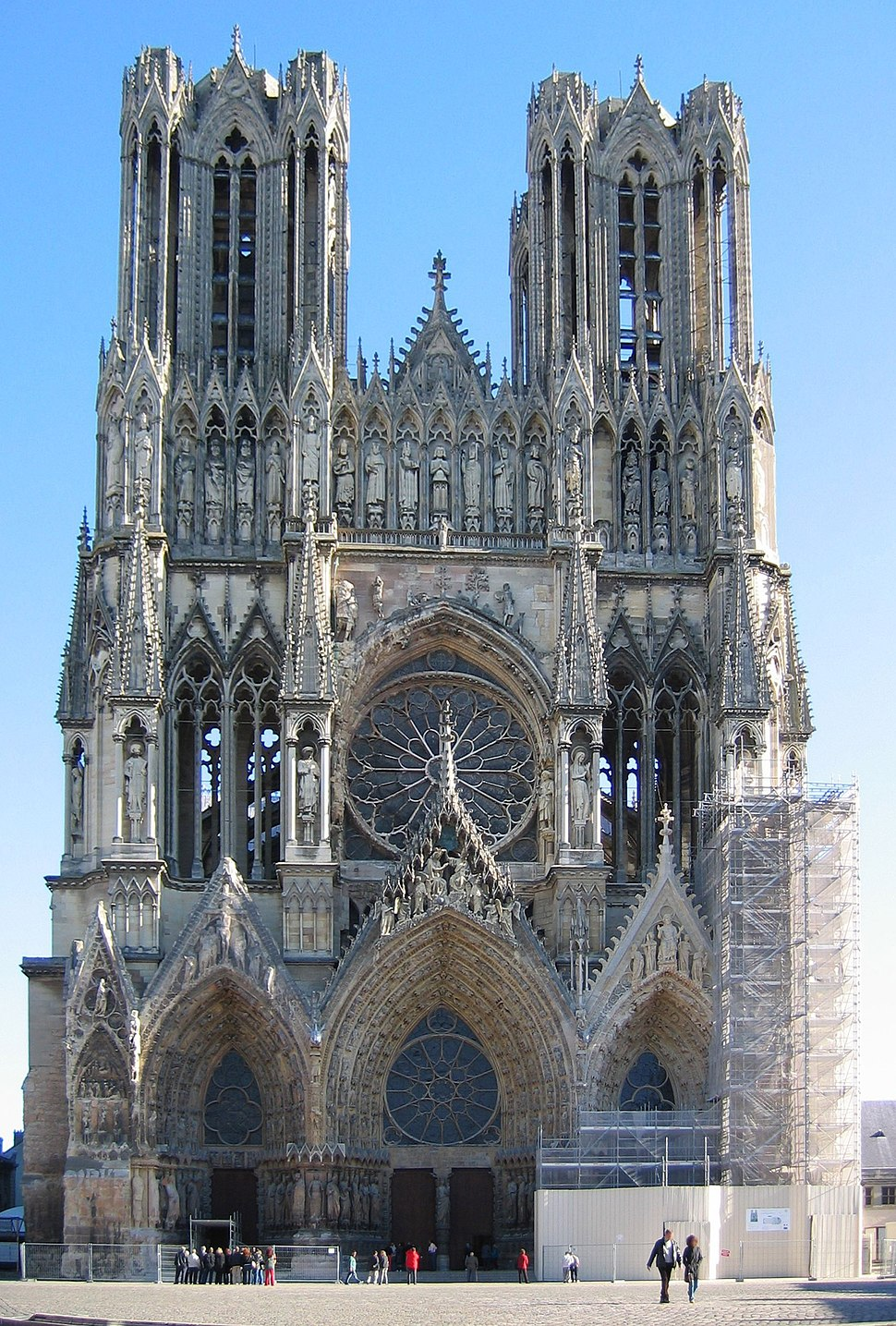 Cathedral Notre-Dame de Reims, France-PerCorr