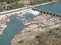 Central Hidroeléctrica Salto Andersen - Cierre sobre el río Colorado.jpg