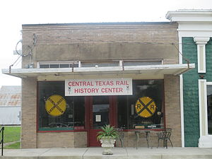 Flatonia, Texas - Central Texas Rail History Center in Flatonia