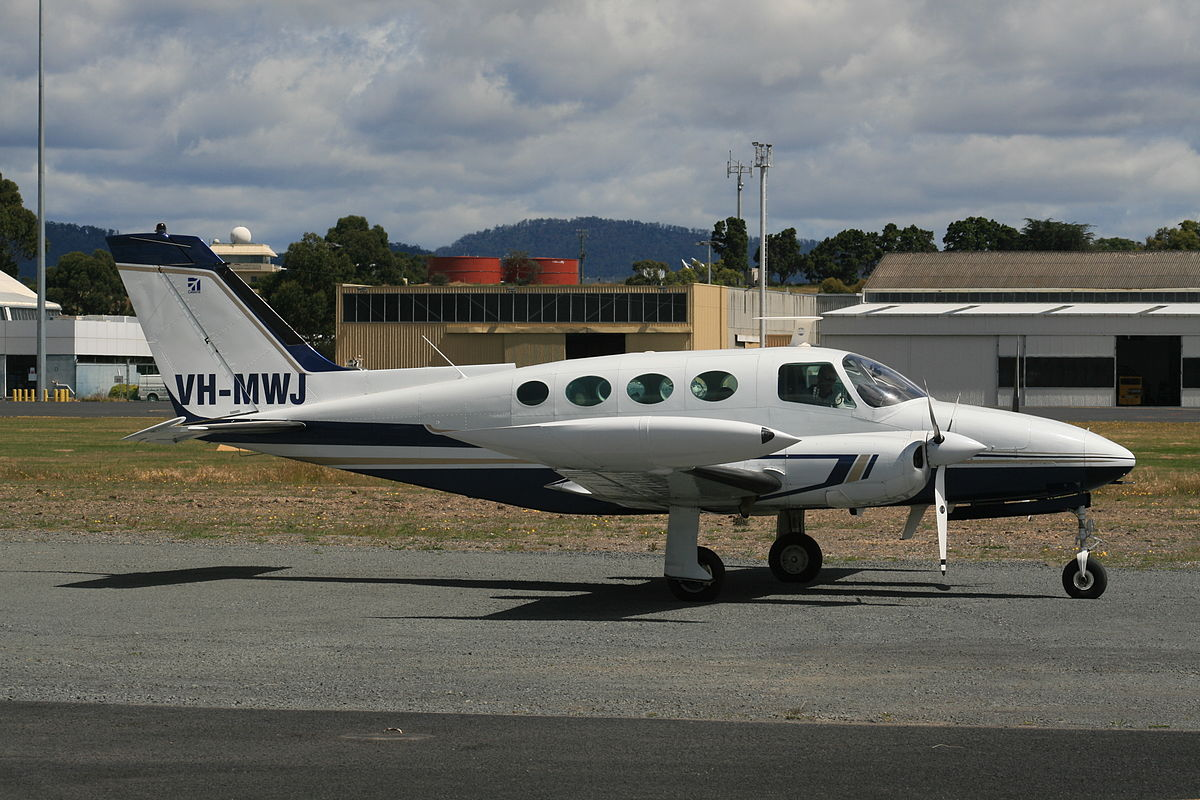 Cessna 411 - Wikipedia