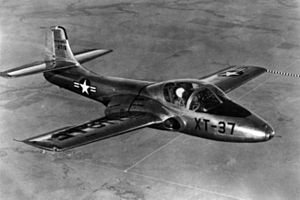 Cessna T-37 Tweet - The XT-37, circa 1954
