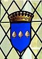 Château de Marqueyssac (Vézac) - Esszimmer 2b Wappen.jpg