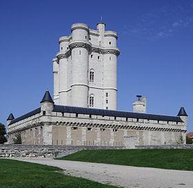 Le château de Vincennes.