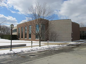 Chace Athletic Center - Image: Chace Athletic Center, Bryant University, Smithfield RI