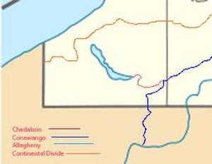 Chadakoin River - Image: Chadkoin River