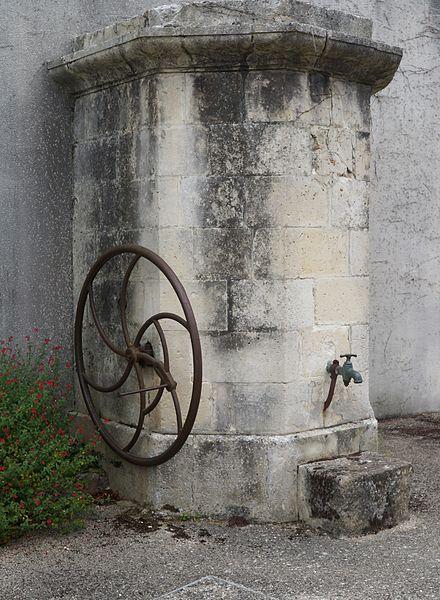 Pompe à eau (1843) à Chaillé-les-Marais  Vendée, Pays de la Loire.- France