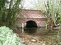 Chalk Stream Bridge, Kirkburn - geograph.org.uk - 784462.jpg