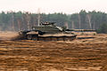 Challenger 2 Tank Moving Quickly During Exercise in Poland MOD 45158299.jpg
