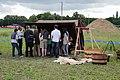 Chantier de fouilles à Morigny-Champigny en juin 2012 04.jpg