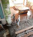 Chapelle Saint-Nicodème (XVIème siècle) Autel vu de la tribune du transept Bretagne Pluméliau 2016 FL 08.jpg