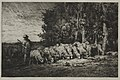 Charles-Émile Jacque - A Herd at the Edge of a Forest - 1947.465 - Cleveland Museum of Art.jpg