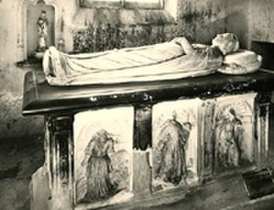 Charlotte of Albret - Tomb and effigy of Charlotte of Albret