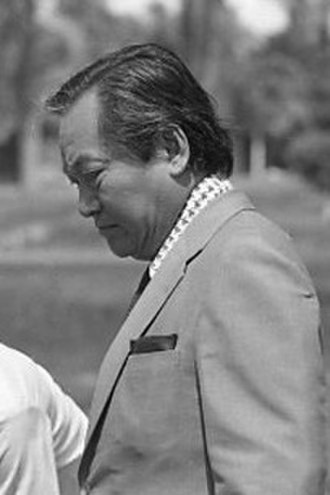 Chatichai Choonhavan - Chatichai in 1974