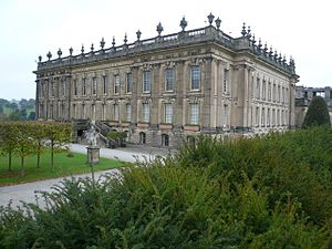William Talman (architect) - Image: Chatsworth House 04