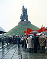Cheboksary. Meeting near WWII Monument. May, 1987.jpg