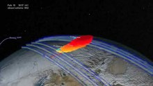 Ficheiro:Chelyabinsk Bolide Plume as seen by NPP and NASA Models.ogv