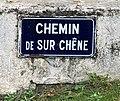 Chemin de sur Chêne (Belley), panneau de rue.jpg
