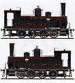 Chemins de fer de l'Hérault - Locomotive 040T D-61 1940.jpg
