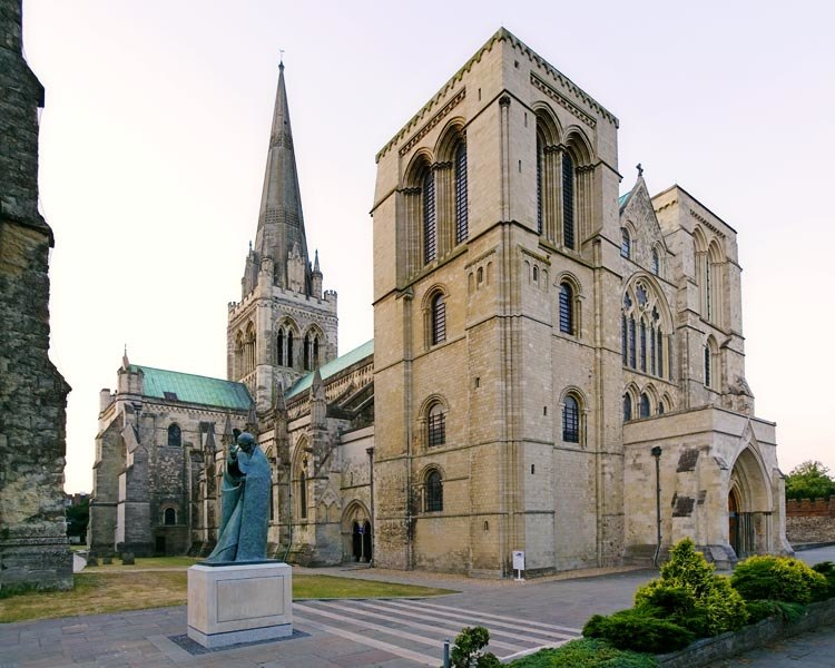 Chichester Cathedral, south-west aspect