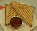 Chicken Sandwich - Oxford Bookstore - Kolkata 2015-10-11 5950.JPG