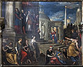 Chiesa di San Zaccaria Venezia - Presentazione di Maria al tempio (1600 circa), di Antonio Vassilacchi.jpg