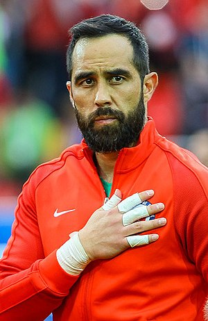 Claudio Bravo - Bravo with Chile in 2017