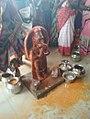 Chinalingala Sri Kodanda Ramalayam pradhama varshikothsavam dasanjaneya swamy 2.jpg