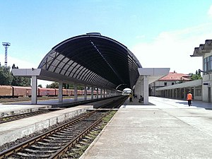 Chișinău railway station - Image: Chisinau railway station 01
