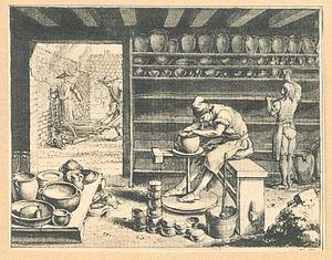 Torno de alfarero wikipedia la enciclopedia libre for Herramientas ceramica artesanal