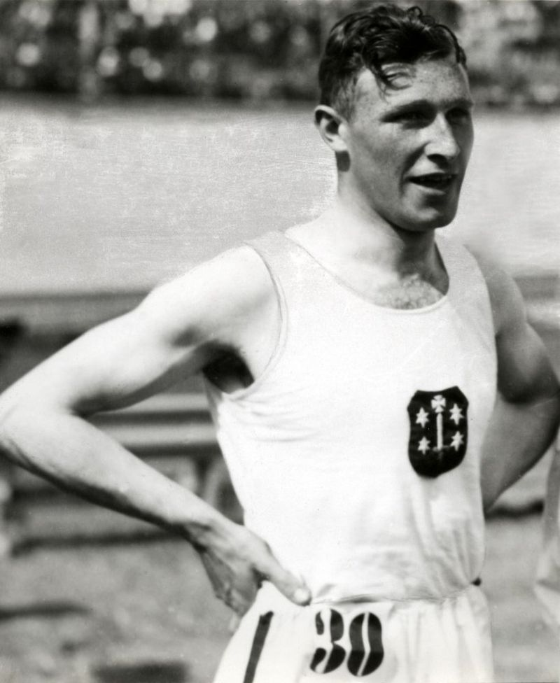 Chris Berger in 1932