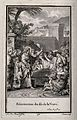Christ raises the widow's son from the dead. Engraving by J. Wellcome V0034853.jpg