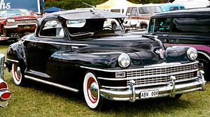 Chrysler New Yorker - 1947 Chrysler New Yorker coupe