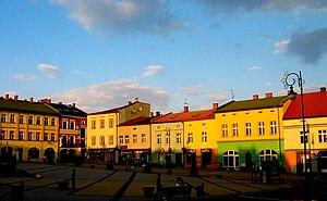 Chrzanów - Chrzanów's Market Square.