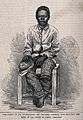 Chumah, David Livingstone's personal servant, seated on a wo Wellcome V0018839.jpg