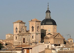 Iglesia de San Idelfonso, Toledo - Dome and towers of the church