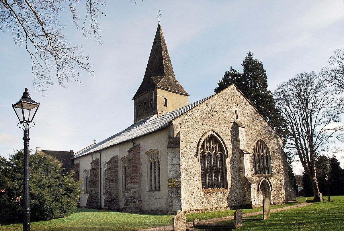 Church of St Lawrence, Alton - Wikipedia