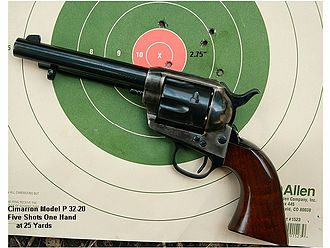 A. Uberti, Srl. - A Uberti-made Cimarron Model P in 32-20/32 WCF