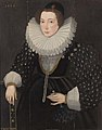Circle of Hieronimo Custodis (fl.1589-1592) Portrait of a Lady, 1588.jpg