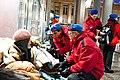 City Angels a Torino assistono senzatetto.JPG