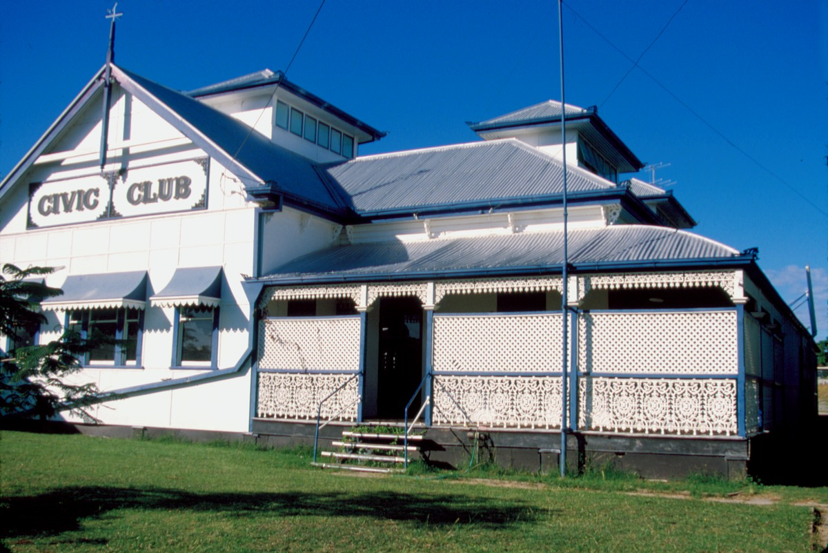 Civic Club, Charters Towers