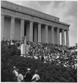 Civil Rights March on Washington, D.C. (Marchers at the Lincoln Memorial.) - NARA - 542053.tif