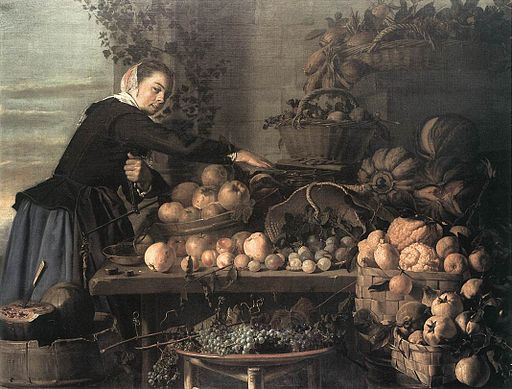 Claes van Heussen - Fruit and Vegetable Seller - WGA11392