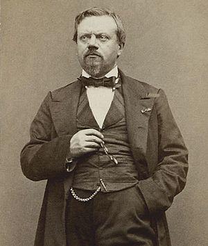 Clairville (Louis-François Nicolaïe) - Clairville, par Étienne Carjat.