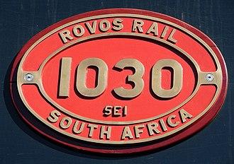 South African Class 5E1, Series 5 - Image: Class 5E1 E1030 IDR