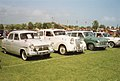 Classic British car line-up (29601482093).jpg
