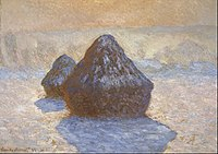 Claude Monet - Haystacks- Snow Effect - Google Art Project.jpg